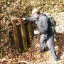Reste der Grabenbefestigung