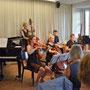 Frühlingssemesterkonzert Juni 2018 in Rapperswil. Foto: Monica Schatzmann (www.monicasfotomomente.ch)