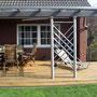Terrassenüberdachung mit VSG-Glas