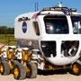 Vision X Scheinwerfer an einem Forschungsfahrzeug der NASA