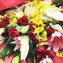 皆様から頂いたお花