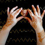 Henna mit Herz, fertiges Henna-Tatoo, Photo: Daniela Rutica