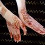 fertiges Henna-Tatoo, Photo: Daniela Rutica