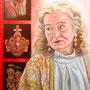 "Daniela Rutica: ""Eva"" 50 x 70 cm, Acryl/Lw, 2013"