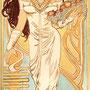 Daniela Rutica: Isis-Sothis, 50 x 200 cm, Acryl/Lw, 2006