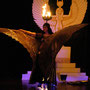 """Bühnenprogramm: Auftritt von Alea, 2006 """"Die Elfenhochzeit"""", Photo: André Elbing"""
