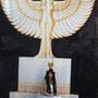 Chimana als Hohepriesterin der Göttin Isis: Malerei, Design, Kostüm und Photo: Daniela Rutica