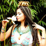 Sophia Chariarse als ägyptische Königin, Foto: Daniela Rutica