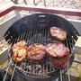 .... leckere Steaks und Würstchen