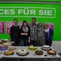von links: Philipp, Nadine, Achim, Sandra und Gabi