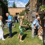 Vernissage Britta Bastian in Brodowin, 14. Juli 2018 - Foto 21
