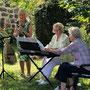 Vernissage Britta Bastian in Brodowin, 14. Juli 2018 - Foto 11