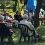 Vernissage Britta Bastian in Brodowin, 14. Juli 2018 - Foto 19