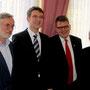 DSV-Vorsitzender, Pfarrer, Dekan und KV-Vorsitzender