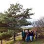 Der junge dynamische Pflegetrupp der Landschaftsstation (1 Mitarbeiter, 3 FÖJler, 2 Praktikanten) war mit dabei.
