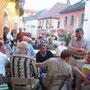 Ankunft im schwarzen Bären Emmersdorf an der Donau