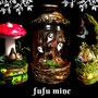 fufu mine https://twitter.com/fufu_mine 架空のファンタジックRPGをテーマに、LEDランプや瓶詰めのオブジェ、プラバン雑貨を制作しています。