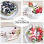 Clara liberta -クララリベルタ- Twitter https://twitter.com/3k_nekosama インスタ https://www.instagram.com/claraliberta/ 身につけるとHappyな気持ちになるをコンセプトに食べ物モチーフのアクセサリーを制作しています。