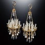 Phantom Jewelry https://twitter.com/michikoholic 「毒があるのになぜか可愛い」がコンセプト。  SPOOKYなものとシャンデリアや燭台など蝋燭を表現したジュエリーを製作。