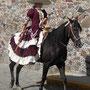 Belleza y presencia mexicana, así son las mujeres de Coatlinchan.