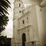 Fachada del templo dedicado a San Miguel Arcangel.