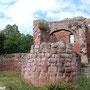 Reste der Unterburg am Kyffhäuser