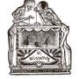 Schilling, Stefanie. Leipzig. Holzstich. 2014. Auflage 50. Blatt 225 x 160 mm. Platte 115 x 95 mm. Puppentheater