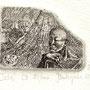 Budzynska, Joanna. PL-Malbork. Radierung 2013. Auflage 100. Blatt 80 x 90 mm. Platte 30 x 40 mm. Issa 1