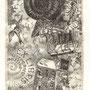 Budzynska, Joanna. PL-Malbork. Radierung 2013. Auflage 100. Blatt 170 x 115 mm. Platte 115 x 70 mm. Issa 3