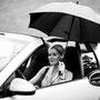 Jessicas Cabrio wurde mit diesem praktischen Einhand-Faltverdeck geliefert.  © Laion.de
