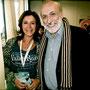 Absoluter Höhepunkt meines Besuches bei der Messe terra madre 2012 in Turin ein Vortrag von und ein foto mit slow-food-Gründer Carlo Petrini