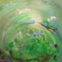 VENDUE-Reflets d'été-18x24 pouces - Acrylique et mixtes