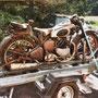 Motorrad Restauration Ariel 500 ccm 1950, Oldtimer Garage D. Bauhofer, Teufenthal