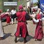 Auch einen Tanz konnten wir dem Volk bieten.