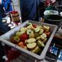 Es wurden viele Äpfel gepresst