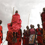 Tanz der Masai-Männer