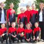 """Den 1. Platz in der Prüfung """"Schritt mit Kür"""" erturnte sich Julias & Monis Team"""