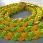 Leine 3-fach verstellbar gelb/lime