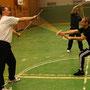 Schwertkampf Training