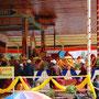H.H. teaching at Buddha Garden, Choglamsar, Leh, August 4-7, 2012