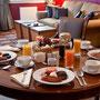 Ugadale Hotel Cottage Frühstück