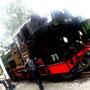 Dampflok 99 758 der Zittauer Schmalspurbahn