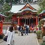 江ノ島神社、恋が叶いますように!!