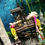 Geisterhäuschen im Lai Thai Garten