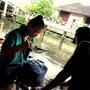 Green-Mango Bangkok Touren: Der schwimmende Markt vom Wat Takien in Nonthaburi