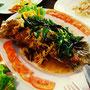 Lai Thai Restaurant: Fisch mit Thaikräutern