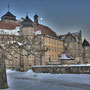 Festung im WInter