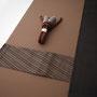 着物、羽織、角帯、羽織紐4点セット No.02 お仕立て上げ価格 ¥175,000(税別)
