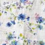 301/Flower on white