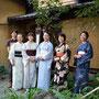 7月百琵琶園+織田流煎茶道
